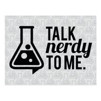Talk Nerdy Postcard