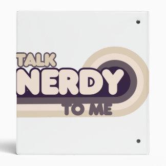 Talk Nerdy to me Binders