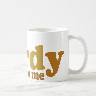 Talk nerdy to me Cool retro Coffee Mug
