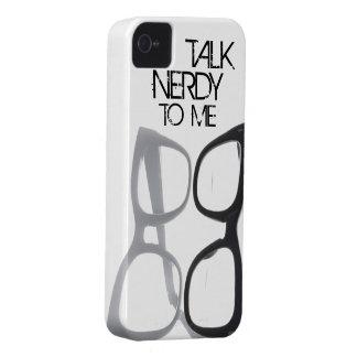 Talk nerdy to me geek nerd iPhone 4S 4 case