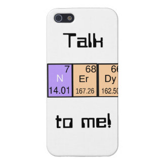 """Talk Nerdy To Me!"" I-phone5 case Covers For iPhone 5"