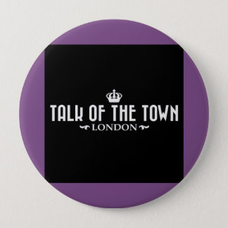 Talk of the Town - Purple Pin