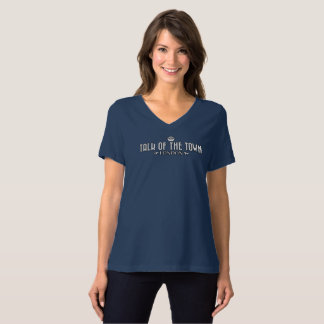Talk of the Town - Women's V-Neck T-Shirt