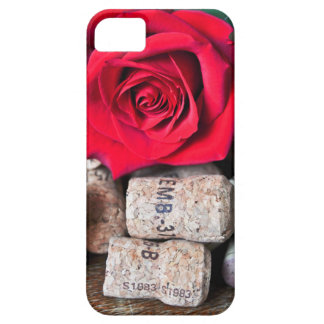 TALK ROSE with cork Case For The iPhone 5