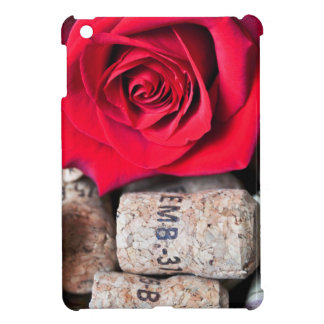 TALK ROSE with cork iPad Mini Covers