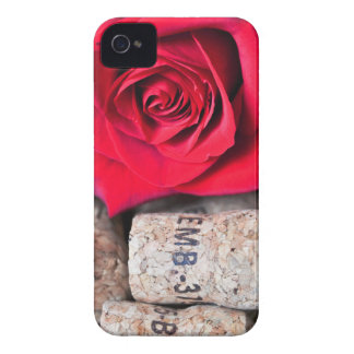 TALK ROSE with cork iPhone 4 Case-Mate Cases