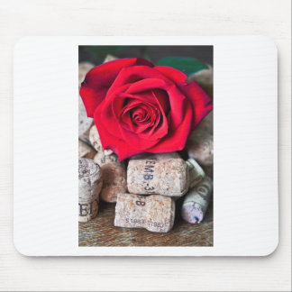 TALK ROSE with cork Mouse Pad