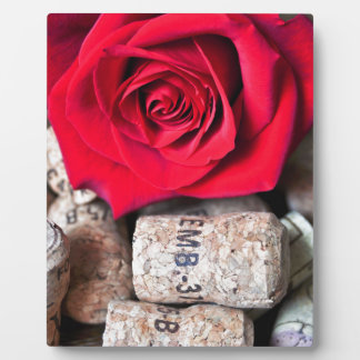 TALK ROSE with cork Plaque