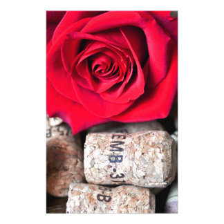 TALK ROSE with cork Stationery