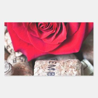 TALK ROSE with cork Sticker
