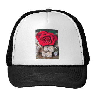 TALK ROSE with cork Trucker Hat