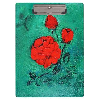 talk roses clipboard