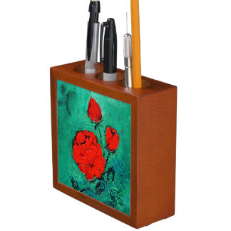 talk roses desk organizer