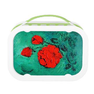 talk roses lunch box