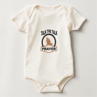 Talk the talk prayer baby bodysuit