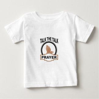 Talk the talk prayer baby T-Shirt