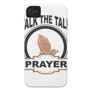 Talk the talk prayer Case-Mate iPhone 4 case