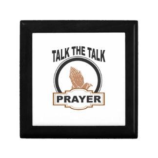 Talk the talk prayer gift box
