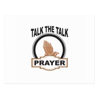 talk the talk prayer yeah postcard