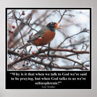 Talk to God Poster