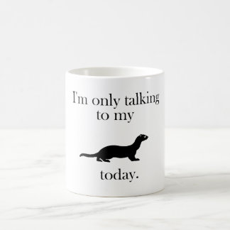 Talk to the ferret mug