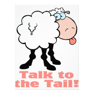 talk to the tail attitude funky sheep invites