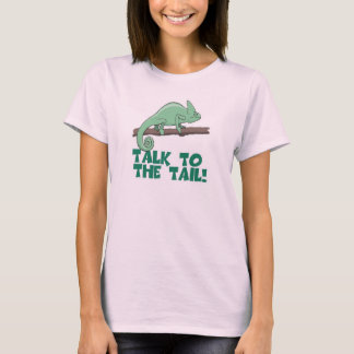 Talk to the Tail Lizzard Iguana T-Shirt