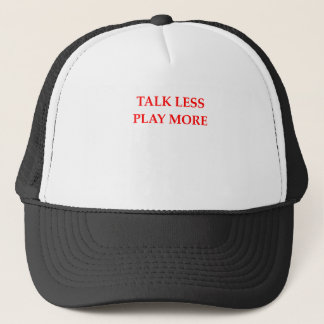 TALK TRUCKER HAT