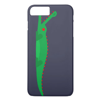 talk without fear, Crocodile uncommon art iPhone 8 Plus/7 Plus Case