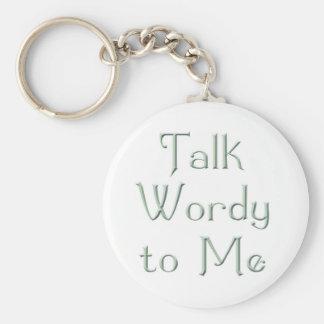 Talk Wordy to Me Rumi Keychain
