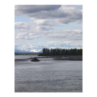 Talkeetna Alaska Personalized Letterhead