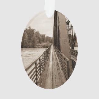 Talkeetna Railroad Bridge Walkway