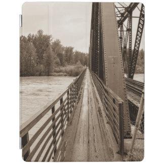 Talkeetna Railroad Bridge Walkway iPad Cover
