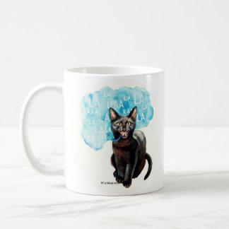 Talking Cat Says Coffee Mug