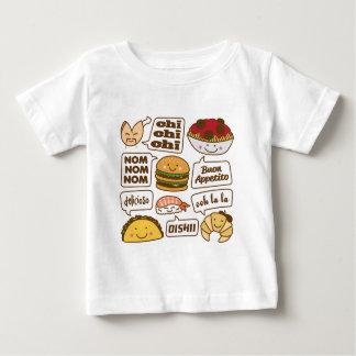 Talking Food Baby T-Shirt