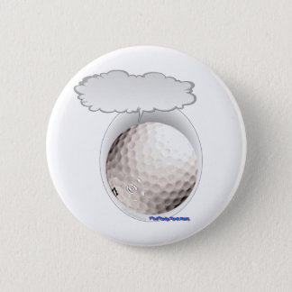 Talking Golf Ball 2 Inch Round Button