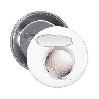 Talking Golf Ball 2 Inch Round Button
