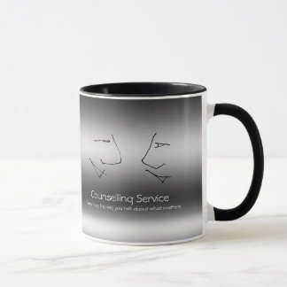 Talking Heads, Counselor, metallic-effect Mug