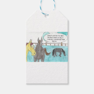 TALKING HORSE GIFT TAGS