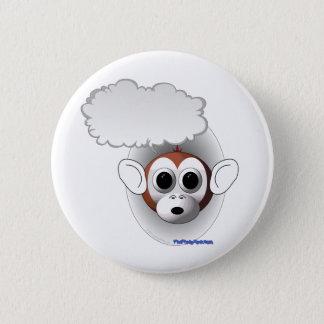 Talking Monkey 2 Inch Round Button