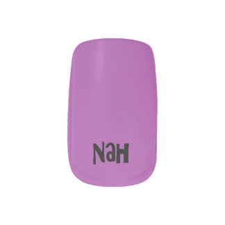 "TALKing NAILS! ""Yah"" for yes and Nah"" for no Fingernail Decals"