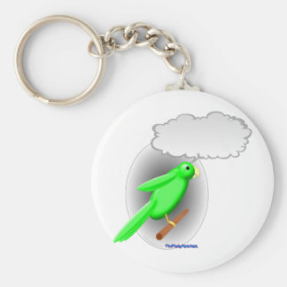 Talking Parrot Keychain
