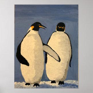 Talking Penguins Poster