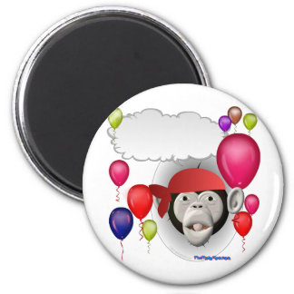Talking Pirate Monkey Party Animal Refrigerator Magnets