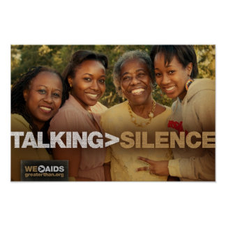 Talking > Silence Generations Poster