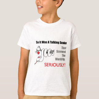 talking snake t-shirt
