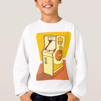 Tall arcade game console sweatshirt