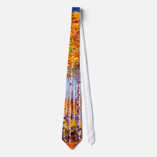 Tall Aspens Tie