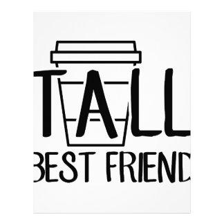 Tall Best Friend Letterhead