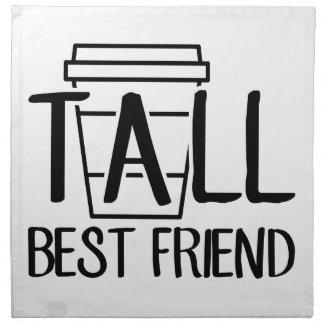 Tall Best Friend Napkin